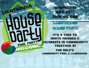 5-25-15 LH HOUSE PARTY -POOL PARTY DALES event blog photo no address